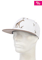 LRG Giraflage SMU Snapback Cap white