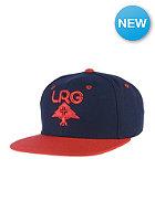 LRG Group Snapback Cap navy