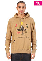 LRG Growington Hooded Sweat dark khaki heather