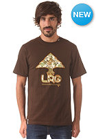 LRG Neon Tree Fill S/S T-Shirt dark chocolate