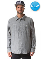 LRG RC LS Herringbone Woven L/S Shirt nautical blue