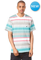 LRG Resolutinary Camp Stripes S/S T-Shirt white