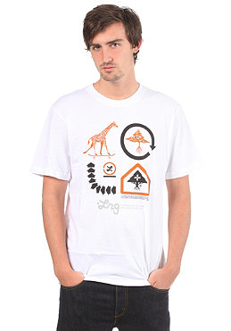 LRG Sk8 Sig Series 4 S/S T-Shirt white