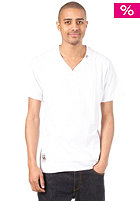 LRG Solid V Neck S/S T-Shirt white