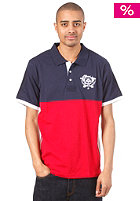 LRG Unite Nations S/S Polo Shirt navy