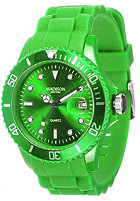 MADISON NEW YORK Silicon Candy apple green  U4167