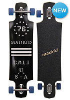 MADRID Complete Longboard BLK Drop Thru 39.25