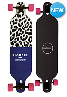 MADRID Complete Longboard Leopboard Basic Drop Thru 39