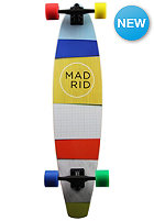 MADRID Longboard Paper Stripes board