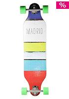 MADRID Longboard Weezer Basic 36 inch paint stripes