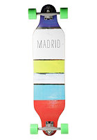 MADRID Weezer Complete Longboard 36 inch paint stripes
