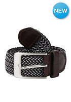 MAKIA Braided Canvas Belt black/white