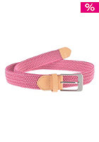 MAKIA Braided Canvas Belt granita