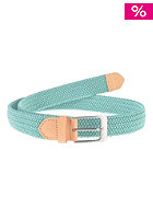 MAKIA Braided Canvas Belt marine green