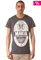 MAKIA Brewery S/S T-Shirt grey