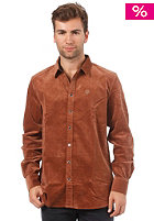 MAKIA Corduroy L/S Shirt rust