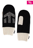MAKIA Makia & Etnies Mittens Gloves black nature white