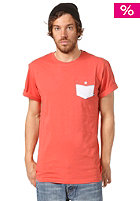 MAKIA Pocket S/S T-Shirt burnt sienna