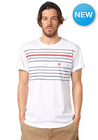 MAKIA Printed Stripe S/S T-Shirt white