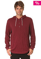 MAKIA Shaman Hooded Sweat cordovan