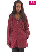 MAKIA Womens Fishtail Jacket cordovan