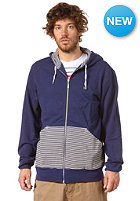 MAKIA Zip Up Hooded Zip Sweat blue