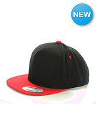 MasterDis Baseball Cap FlexFit Snapback black/red