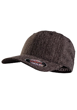 MasterDis Baseball Flexfit Plaid Cap heather charcoal