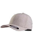MasterDis Baseball Flexfit Plaid Cap heather grey