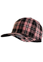 MasterDis Baseball Flexfit Plaid Cap pink