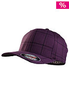 MasterDis Baseball Flexfit Plaid Cap purple
