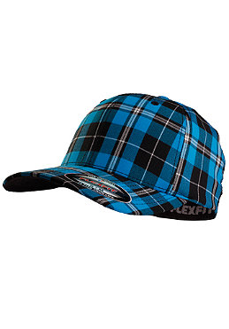 MasterDis Baseball Flexfit Plaid Cap turquoise
