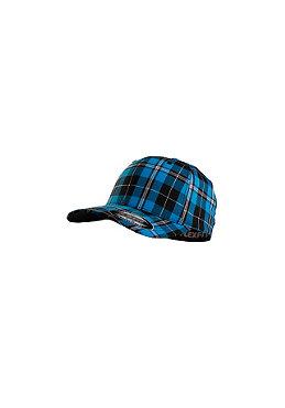 MasterDis Baseball Flexfit Plaid Cap turquoise