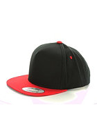 MasterDis Baseball Snapback Cap black/red