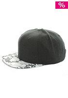 MasterDis Baseball Special Print Snapback Cap black/camo grey