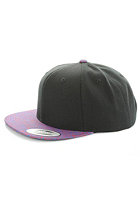 MasterDis Baseball Special Print Snapback Cap black/elephant royal/red