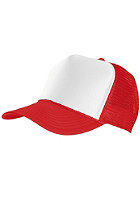 MasterDis Baseball Trucker Cap red/white