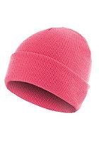 MasterDis Basic Flap Beanie neon pink