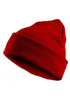 MasterDis Basic Flap Beanie red