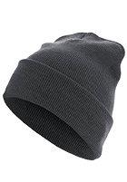 MasterDis Beanie Basic Flap Long Version ht.grey
