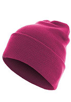 MasterDis Beanie Basic Flap Long Version magenta
