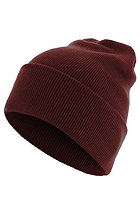 MasterDis Beanie Basic Flap Long Version maroon