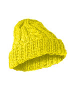 MasterDis Cabel Flip Beanie neon yellow 
