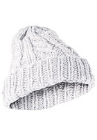 MasterDis Cabel Flip Beanie white