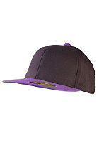 MasterDis Flexfit Premium Fitted Baseball Cap black/purple