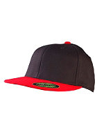 MasterDis Flexfit Premium Fitted Baseball Cap black/red