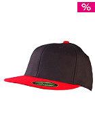 MasterDis Flexfit Premium Fitted Baseball Cap black/red