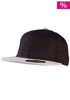 MasterDis Flexfit Premium Fitted Baseball Cap black/silver