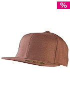 MasterDis Flexfit Premium Fitted Baseball Cap brown