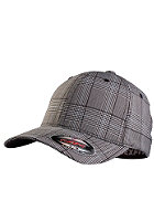 MasterDis Glen Check Flexfit Cap black/white